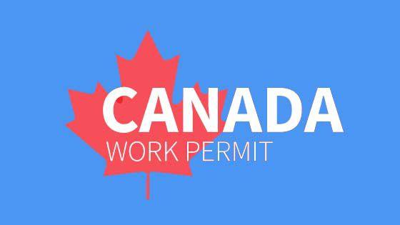 Canada work permit from Dubai